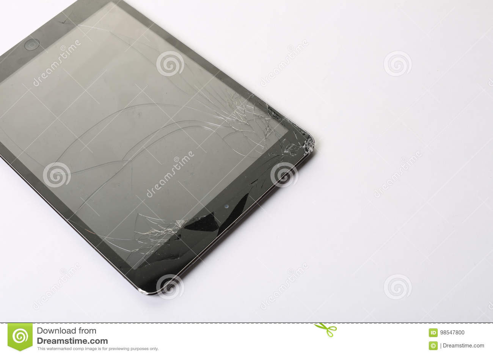Krakingowy pastylka ekran