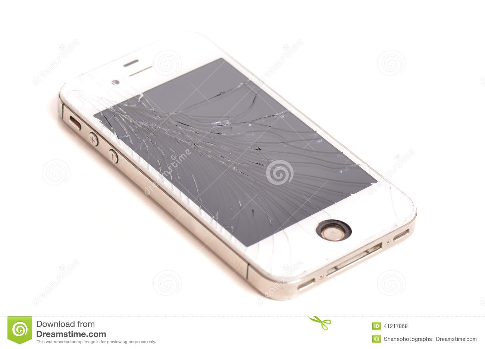 Krakingowy telefonu komórkowego ekran