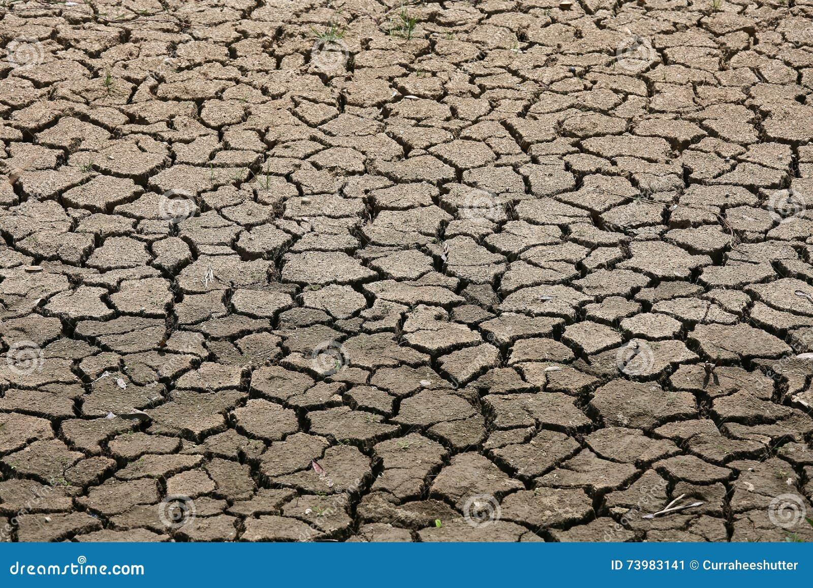 Krakingowy zmielony tło i pusty teren dla teksta, suszymy ziemię i gorącą powierzchnię ziemia w lecie, gorący nastrojowy wokoło k
