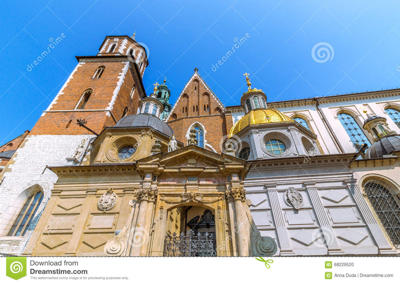 Krakow (Cracow)- Poland- Wawel Cathedral- gold dome