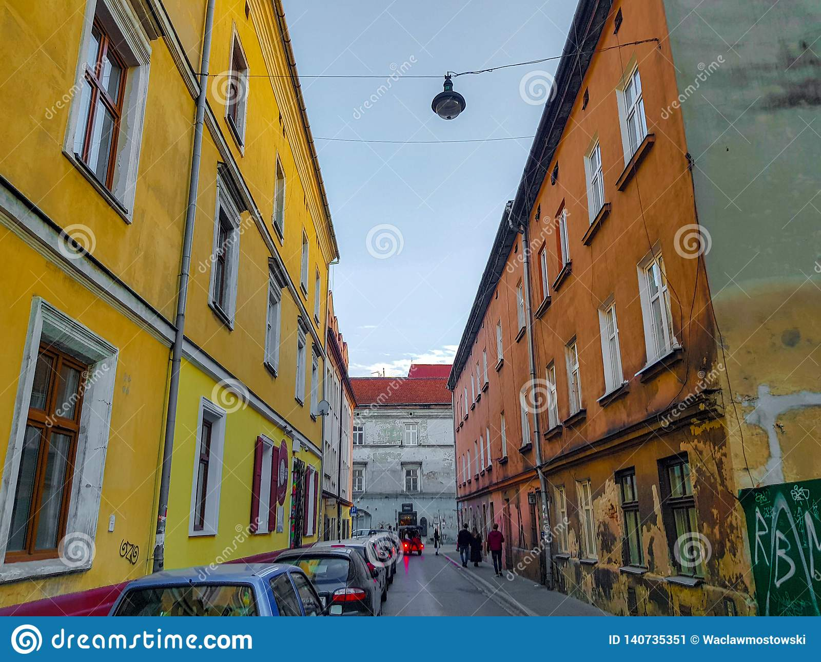 Krakow Jewish district of Kazimierz, Poland