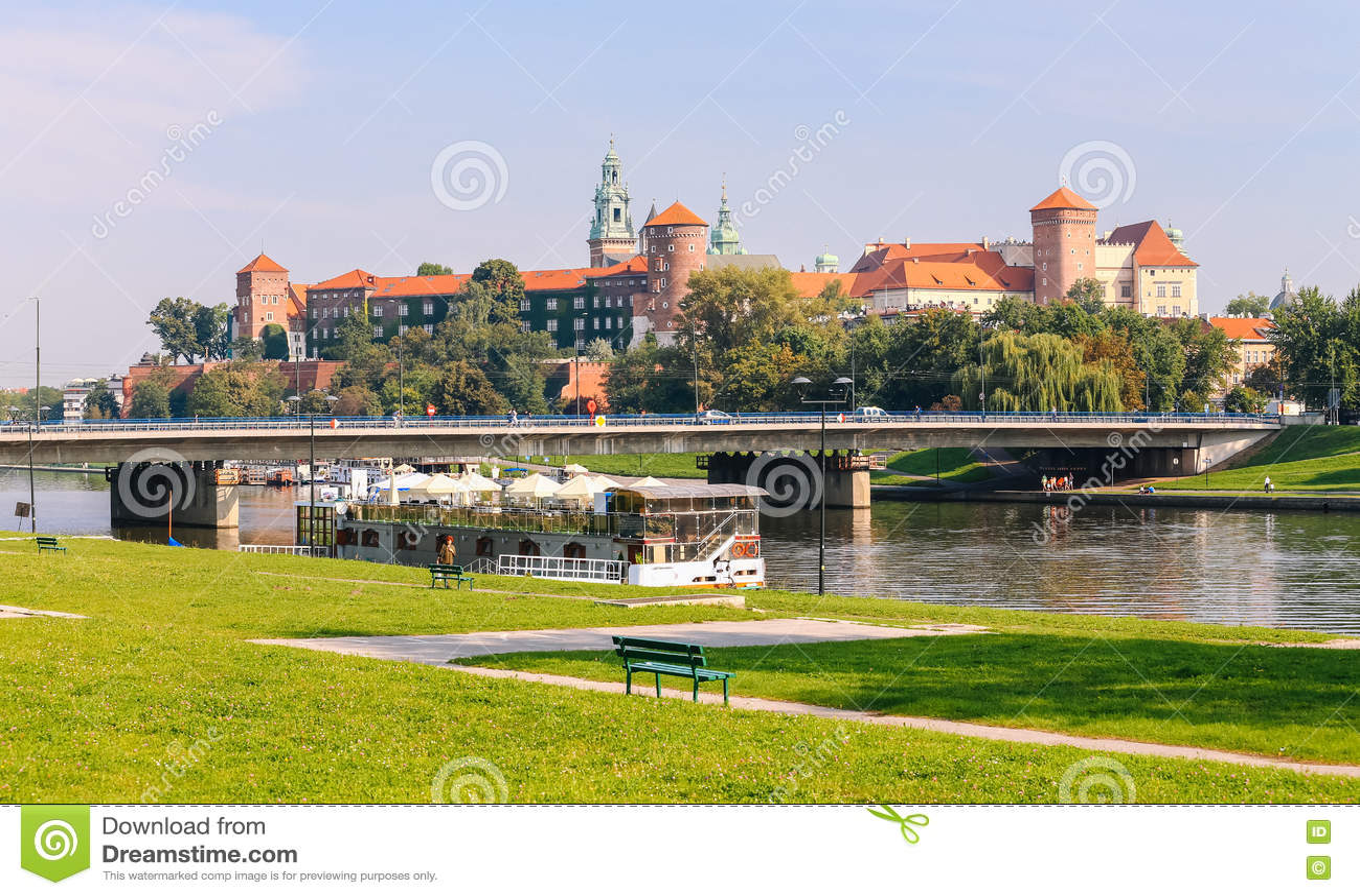 Krakow/medeltida slott poland