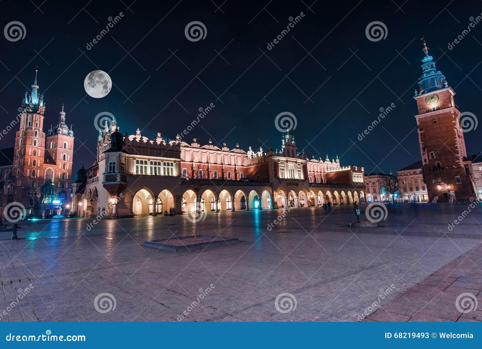 Krakow o quadrado principal