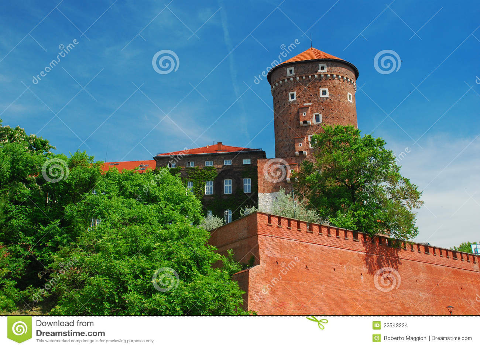 Krakow, Poland. Castelo de Wawel
