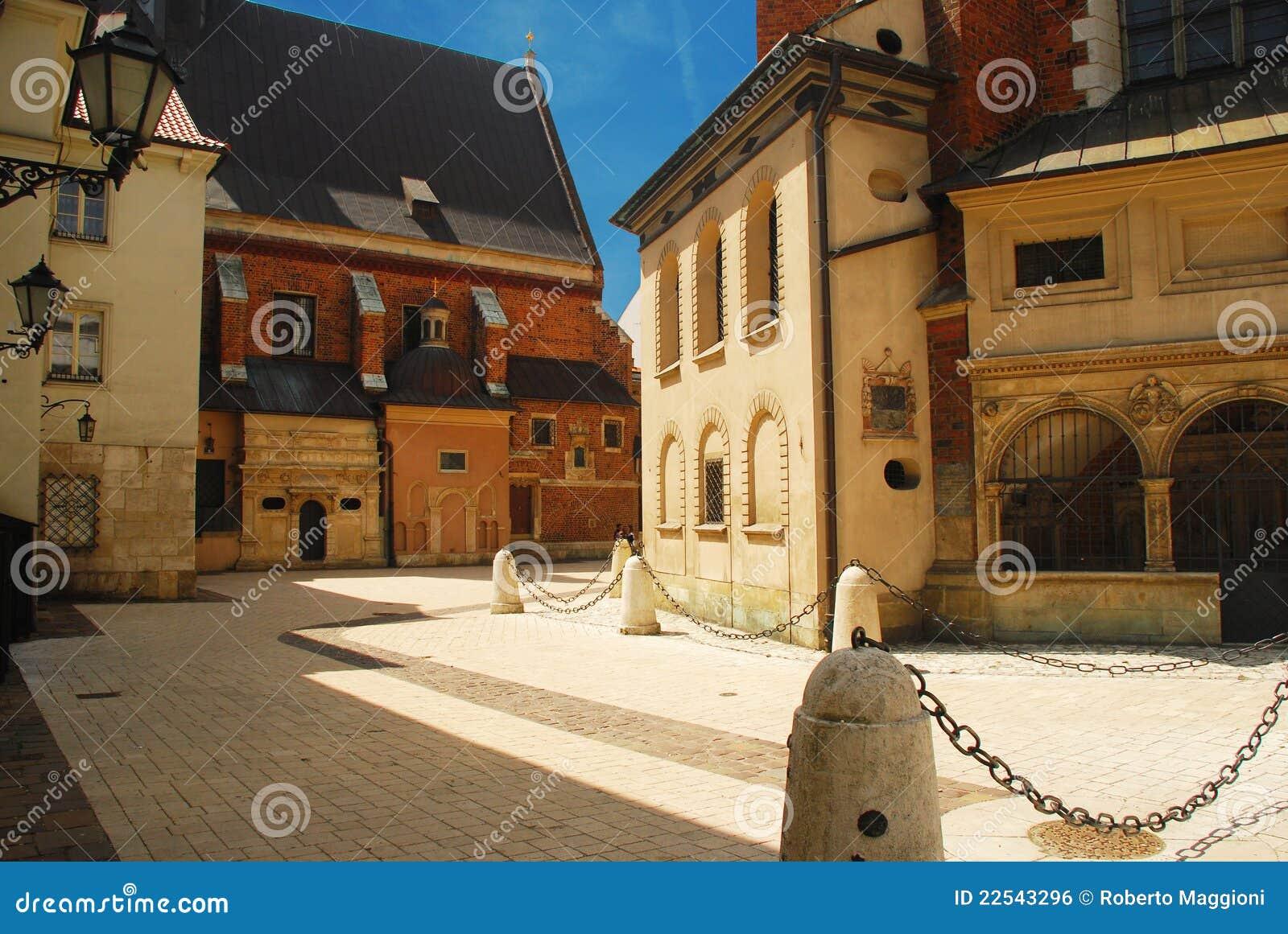 Krakow, Poland. Centro de cidade velho