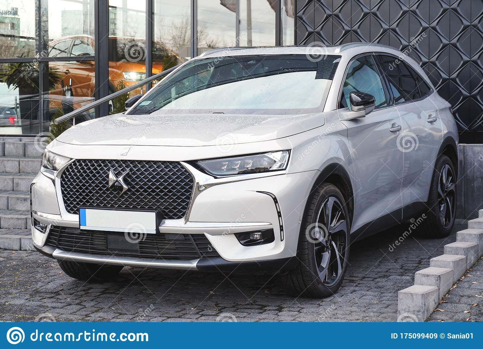 Krakow Poland 02 15 2020 Citroen Ds 7 Crossback French Suv Cars In The Parking Lot Of The Dealer Center Sales Of New Cars Editorial Stock Image Image Of Citroen Auto 175099409