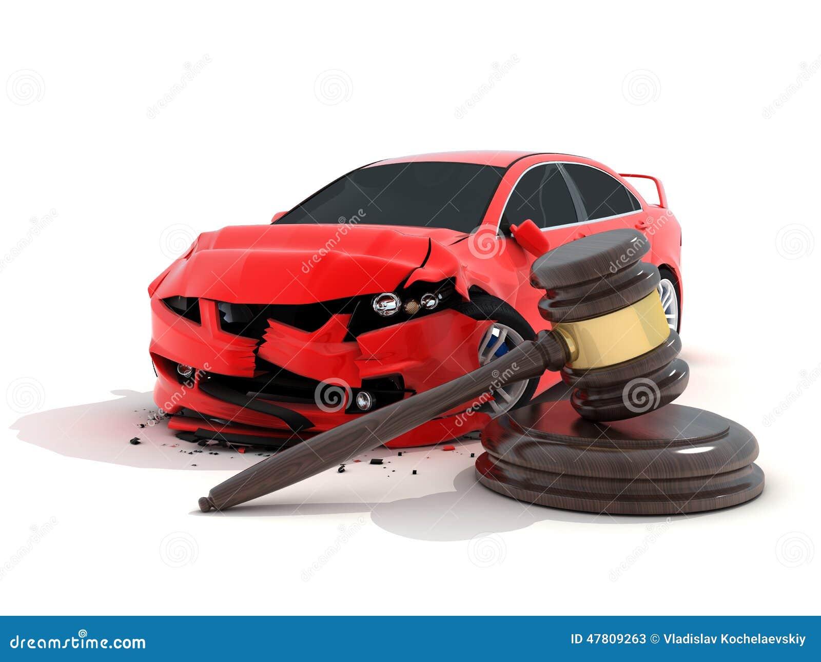 Kraksa samochodowa i prawo