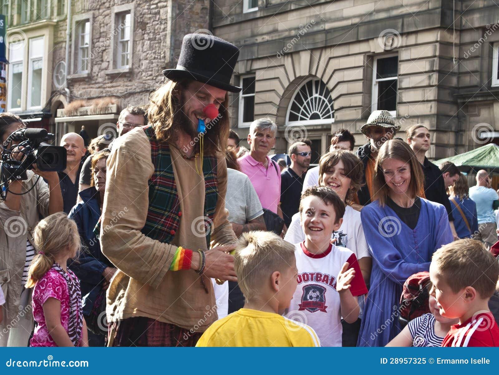 Krana festiwal Edinburgh