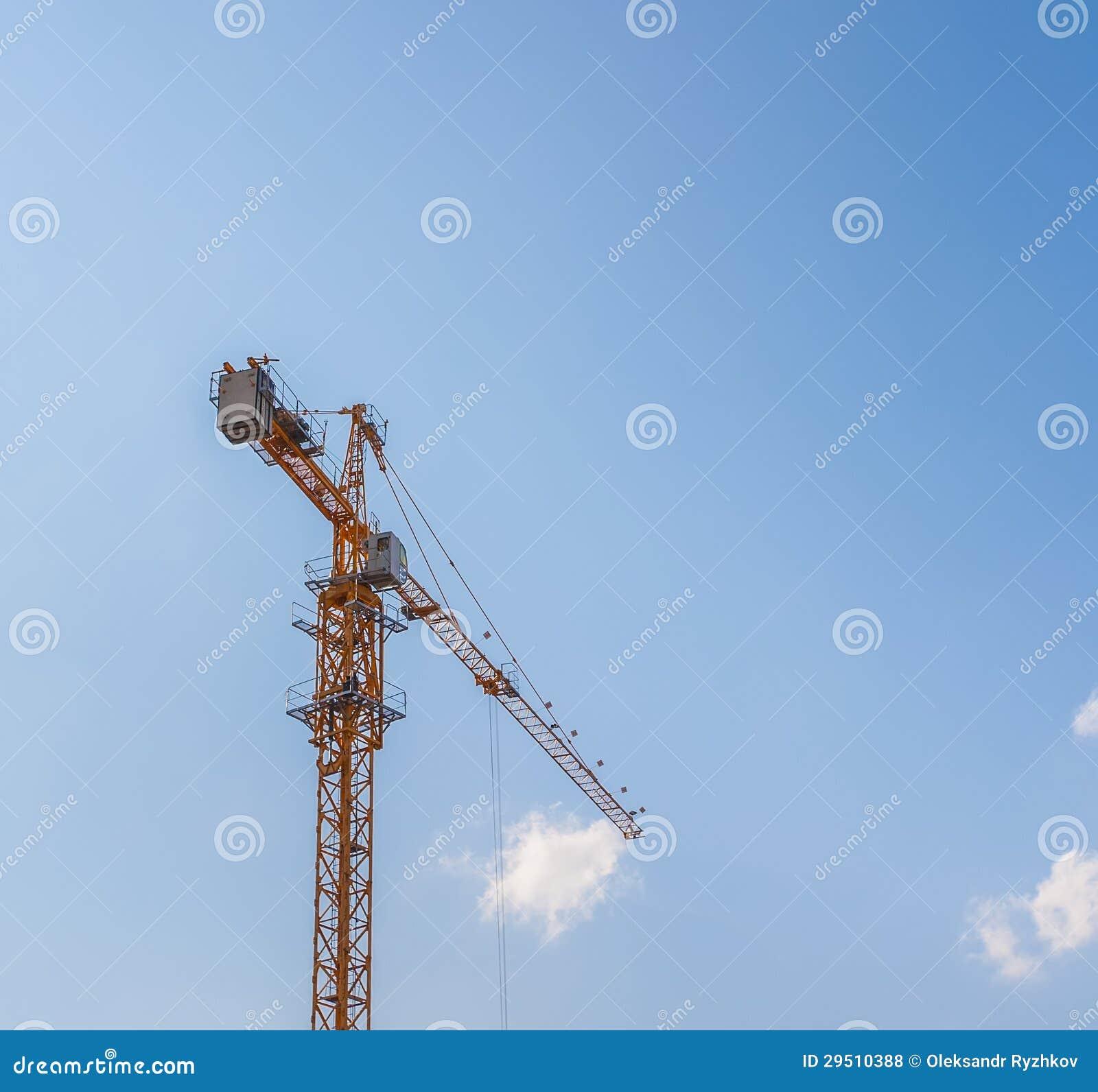 Kranen bij een bouwwerf