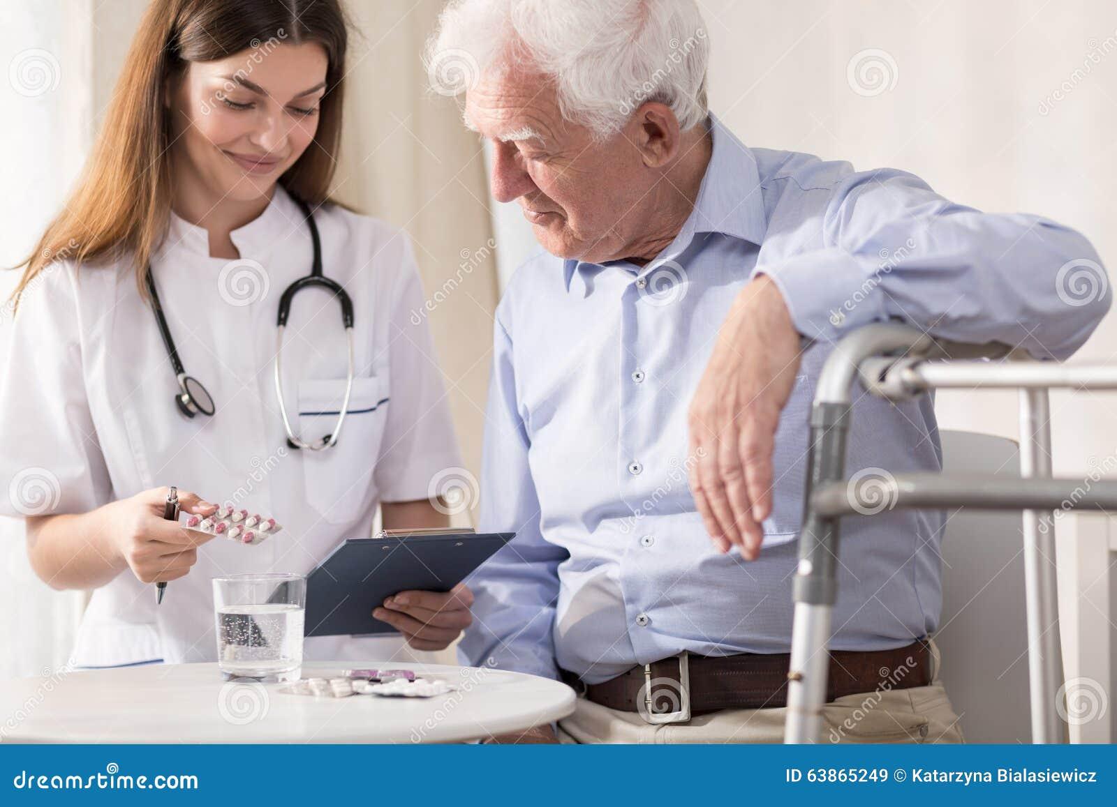 Medizin Für Die Krankenschwester