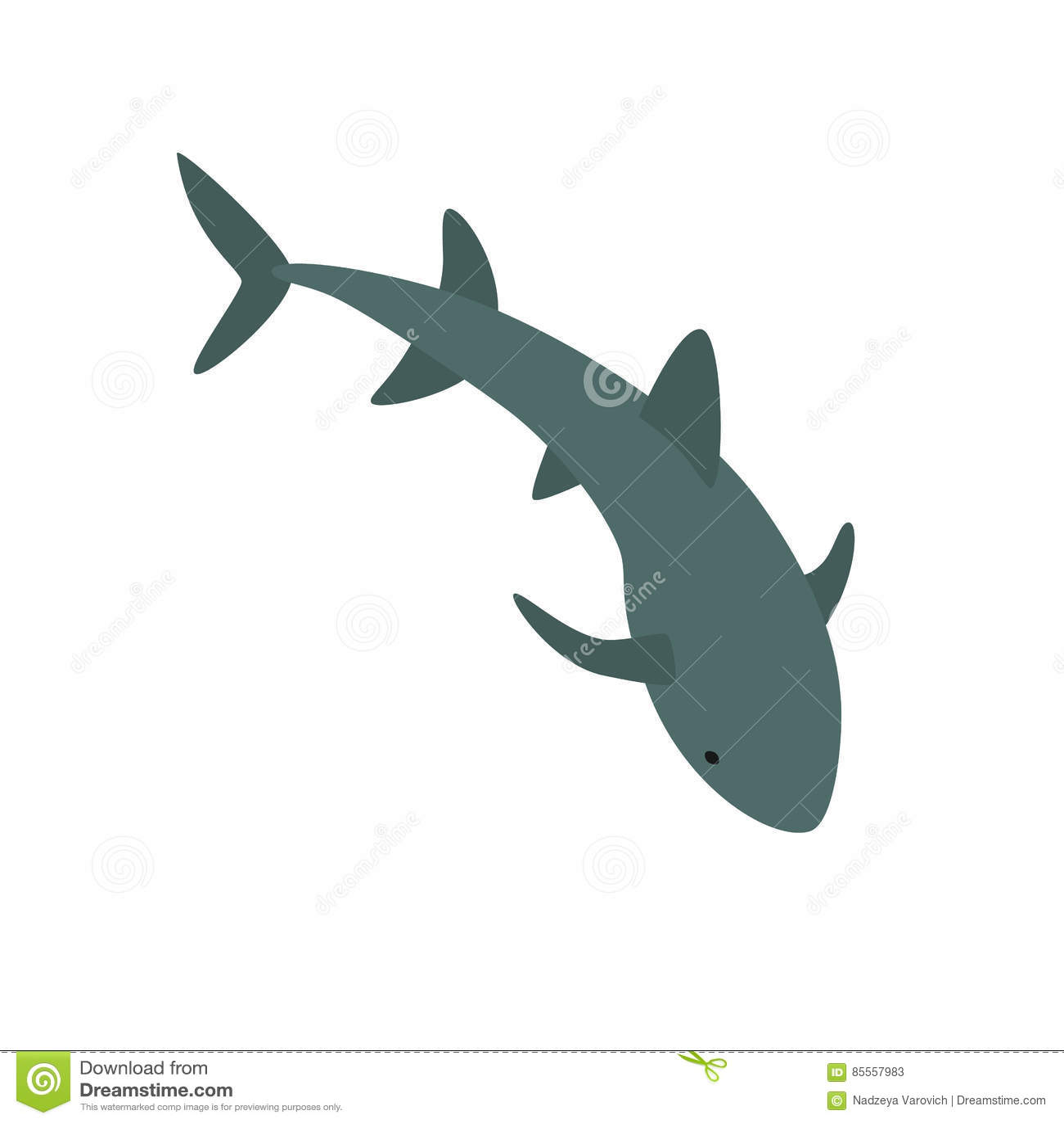 Krankenschwester-Shark-Illustration