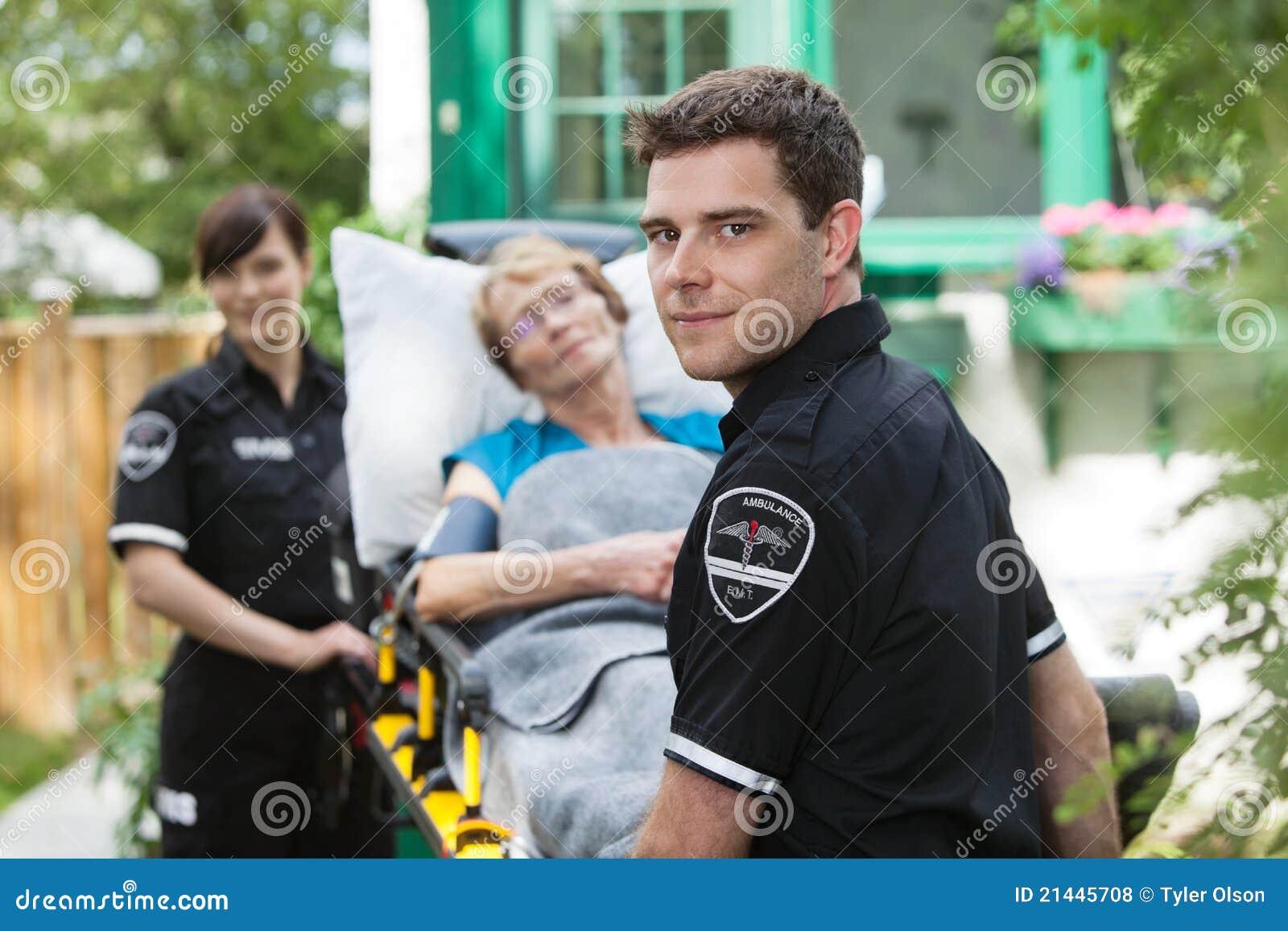 Krankenwagen-Fachmann