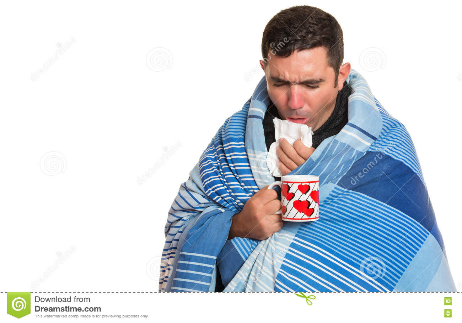 Grippe Husten