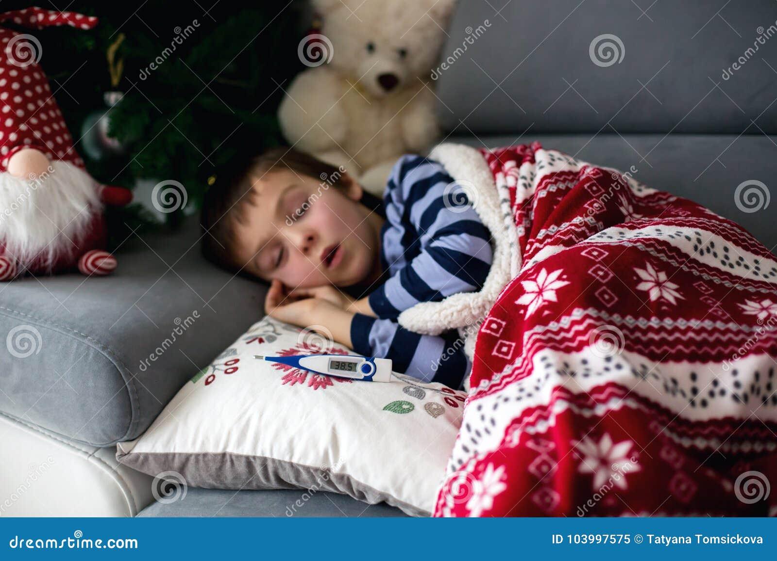 Kind Husten Fieber Mundgeruch