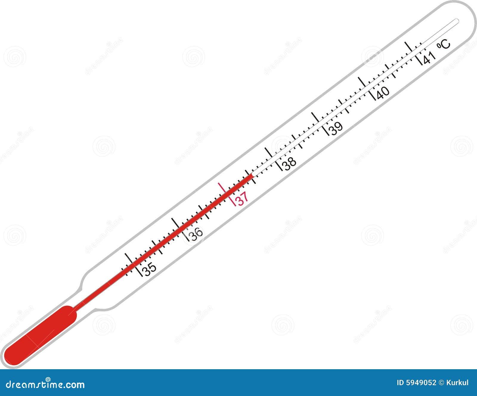 Krankheit Und Thermometer Stockfotografie Bild 5949052