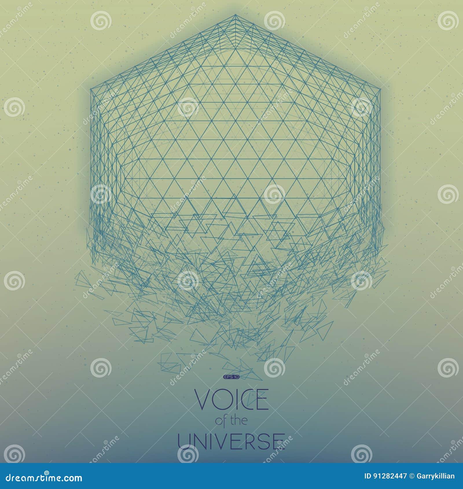 Krascha utrymmeblåttobjekt Abstrakt vektorbakgrund med mycket små stjärnor Glöd av solen från botten