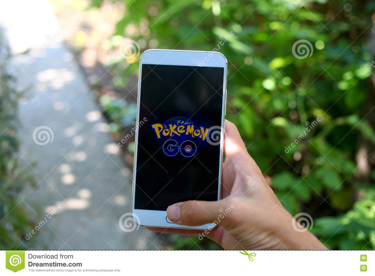 Krasnodar Russia On July 26 2016 Pokemon Go Is A Location Editorial Image Image Of Editorial Game 75003415