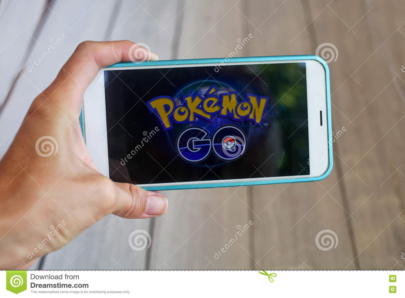Krasnodar Russia On July 26 2016 Pokemon Go Is A Location Editorial Stock Image Image Of Pikachu Outdoor 75003554