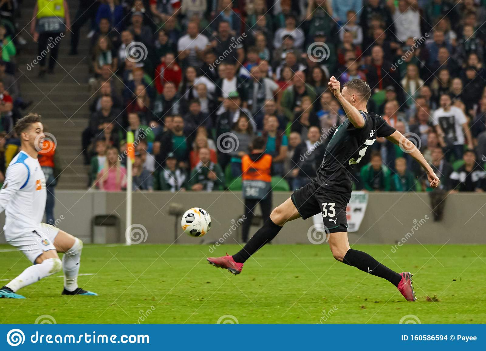 Marcus Berg Of Fc Krasnodar In Action Editorial Stock Image Image Of Championship Play 160586594
