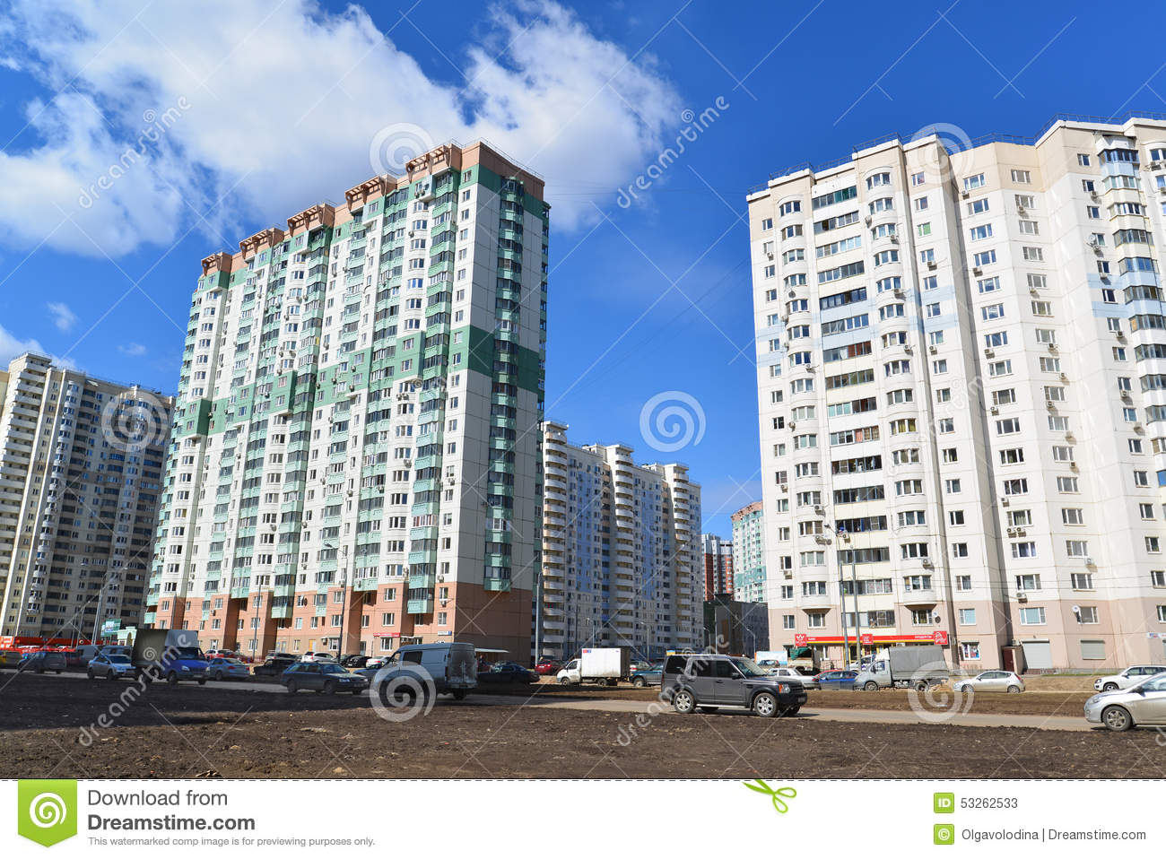 Krasnogorsk Russia  City new picture : KRASNOGORSK, RUSSIA APRIL 22,2015: Krasnogorsk is city and center of ...