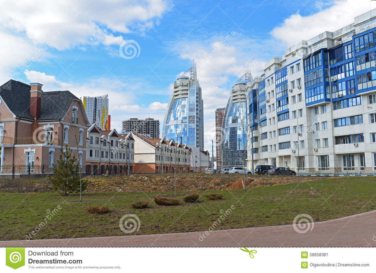 Krasnogorsk Russia  city pictures gallery : KRASNOGORSK, RUSSIA APRIL 22,2015: Krasnogorsk is city and center of ...