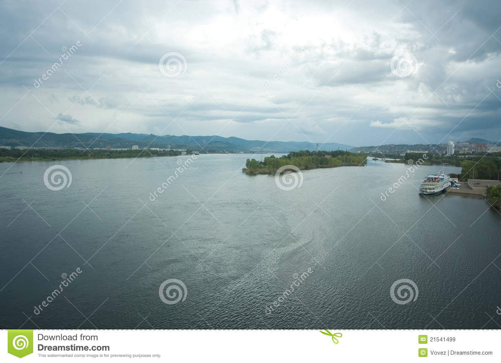 Krasnoyarsk, río Yenisei