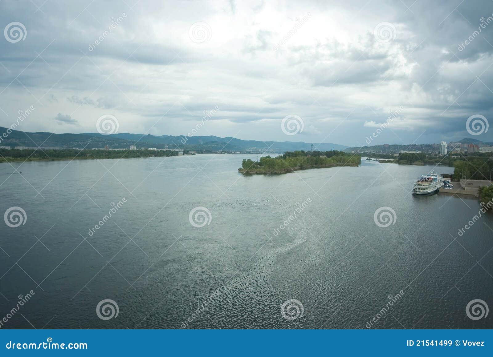 Krasnoyarsk, river Yenisei