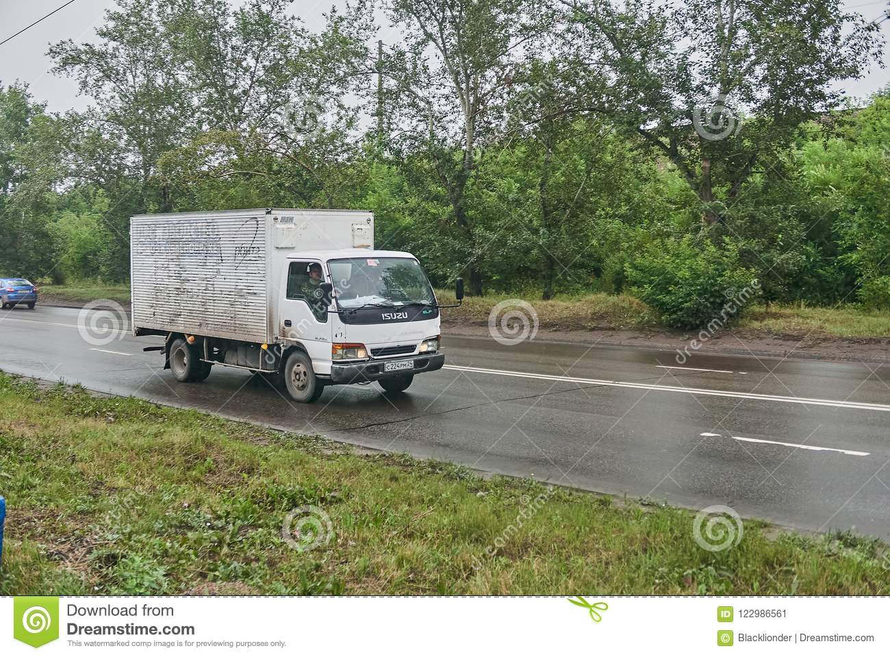 Isuzu Elf thermos editorial photo  Image of agricultural - 122986561