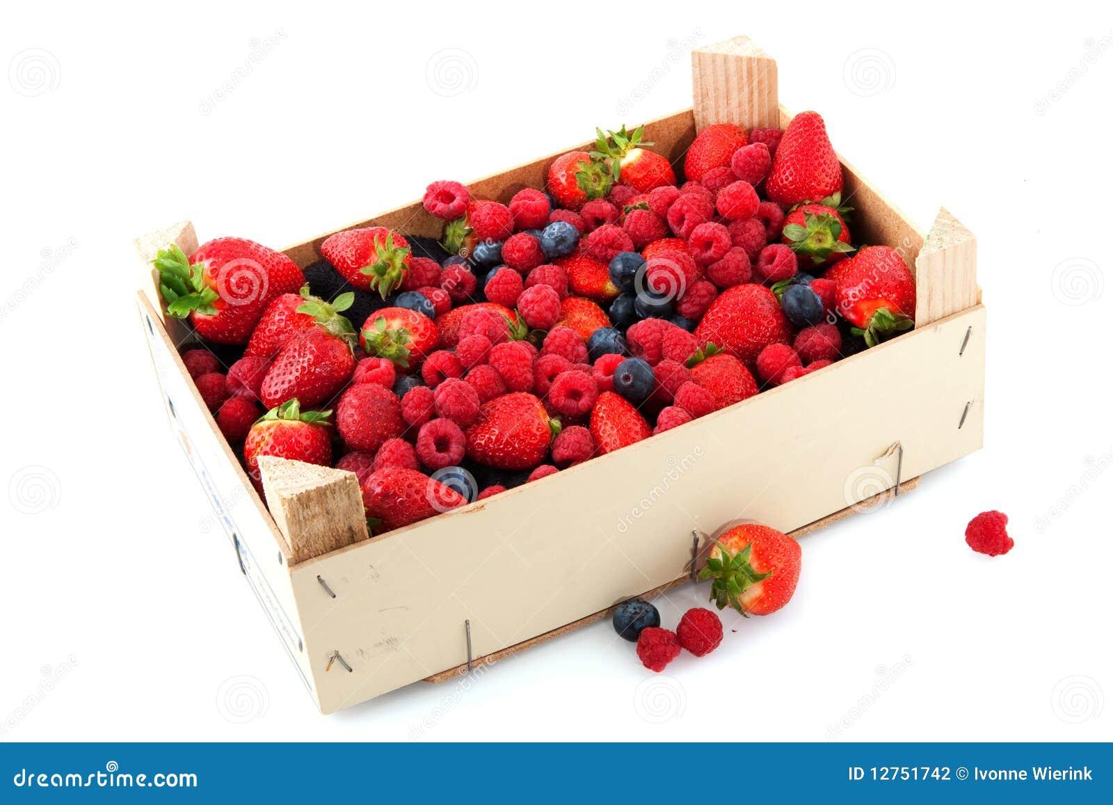 Krat met een diversiteit van vers fruit stock fotografie afbeelding 12751742 - Krat met appel ...