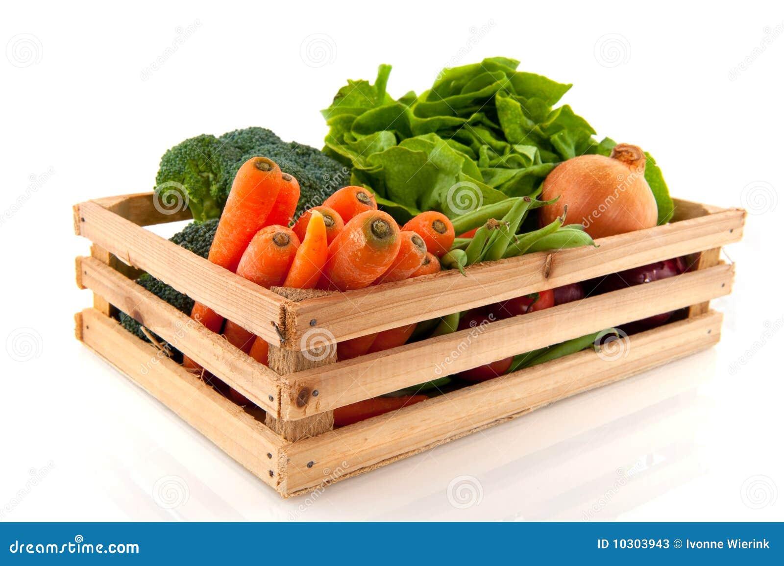 Krat met groenten stock foto 39 s afbeelding 10303943 - Krat met appel ...