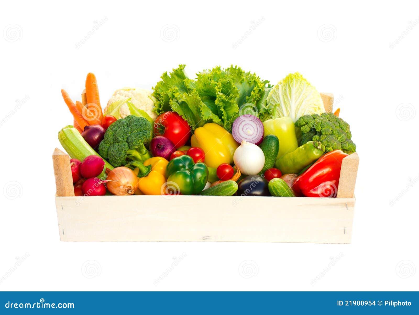 Krat met groenten stock afbeeldingen afbeelding 21900954 - Krat met appel ...