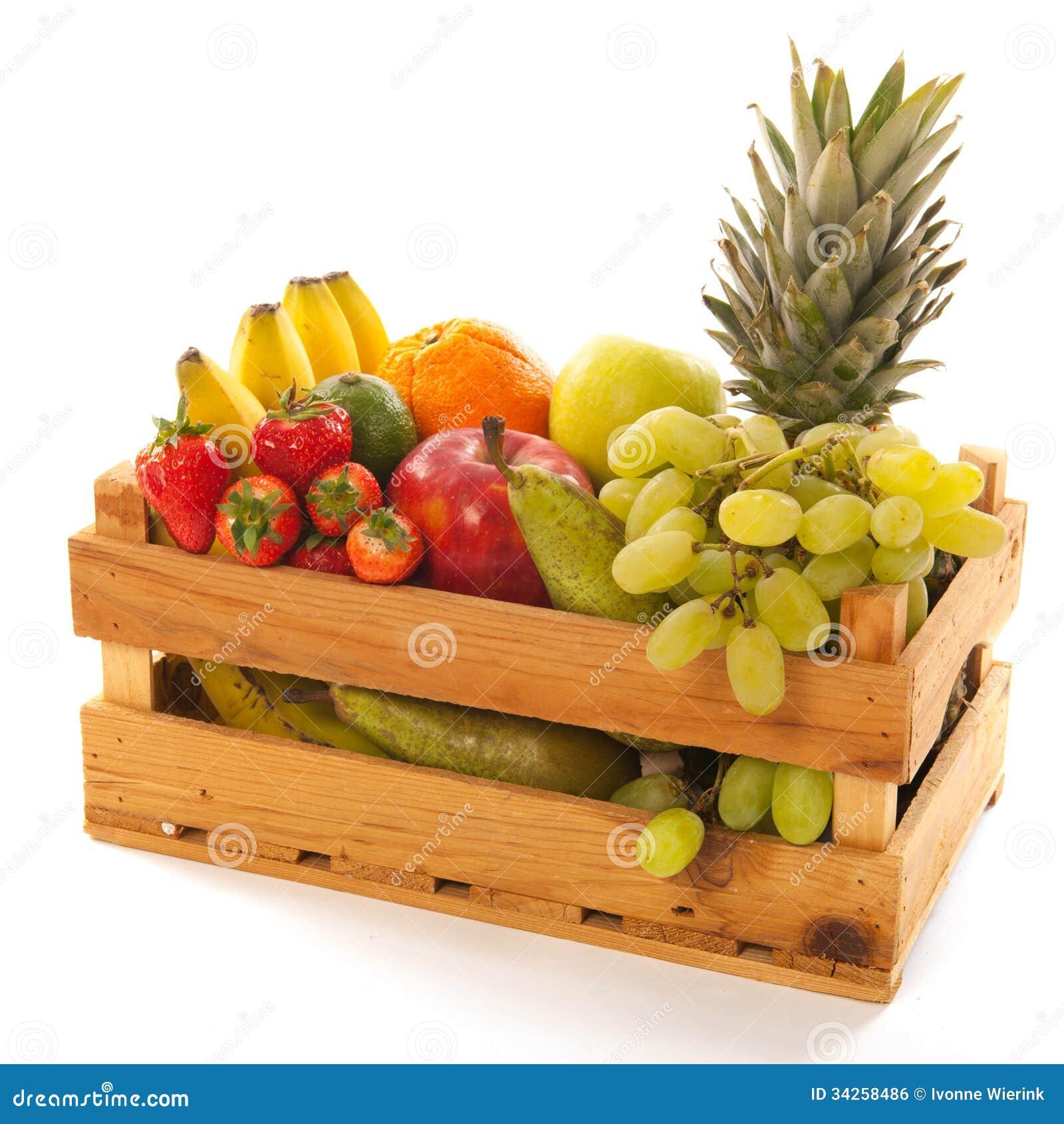 Krat vers fruit royalty vrije stock afbeelding afbeelding 34258486 - Krat met appel ...