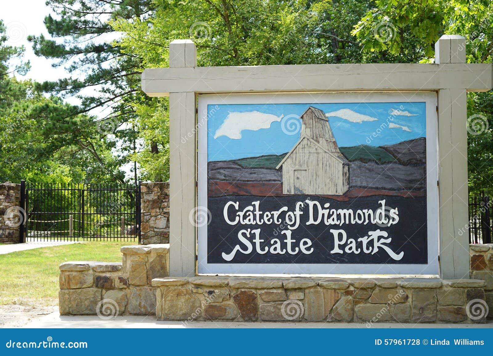 Krater van het Park van de Diamantenstaat