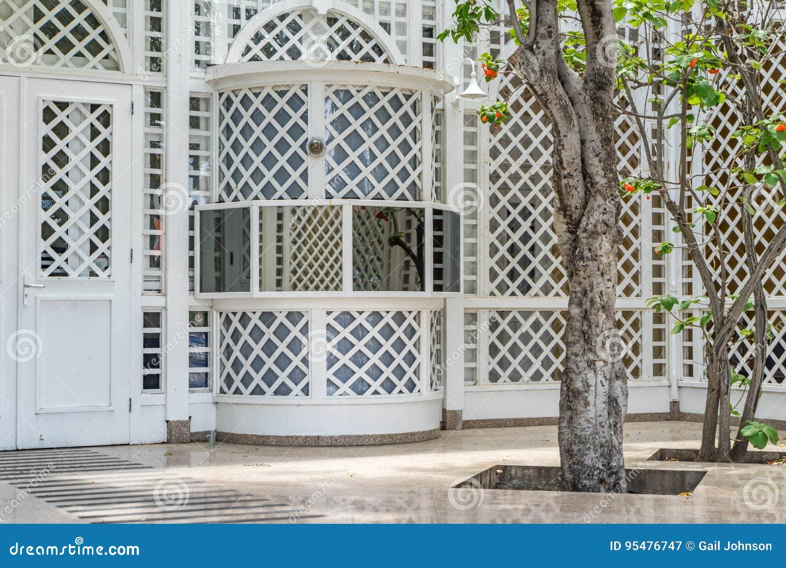 Kratownicy pracy Punda Curacao widoki