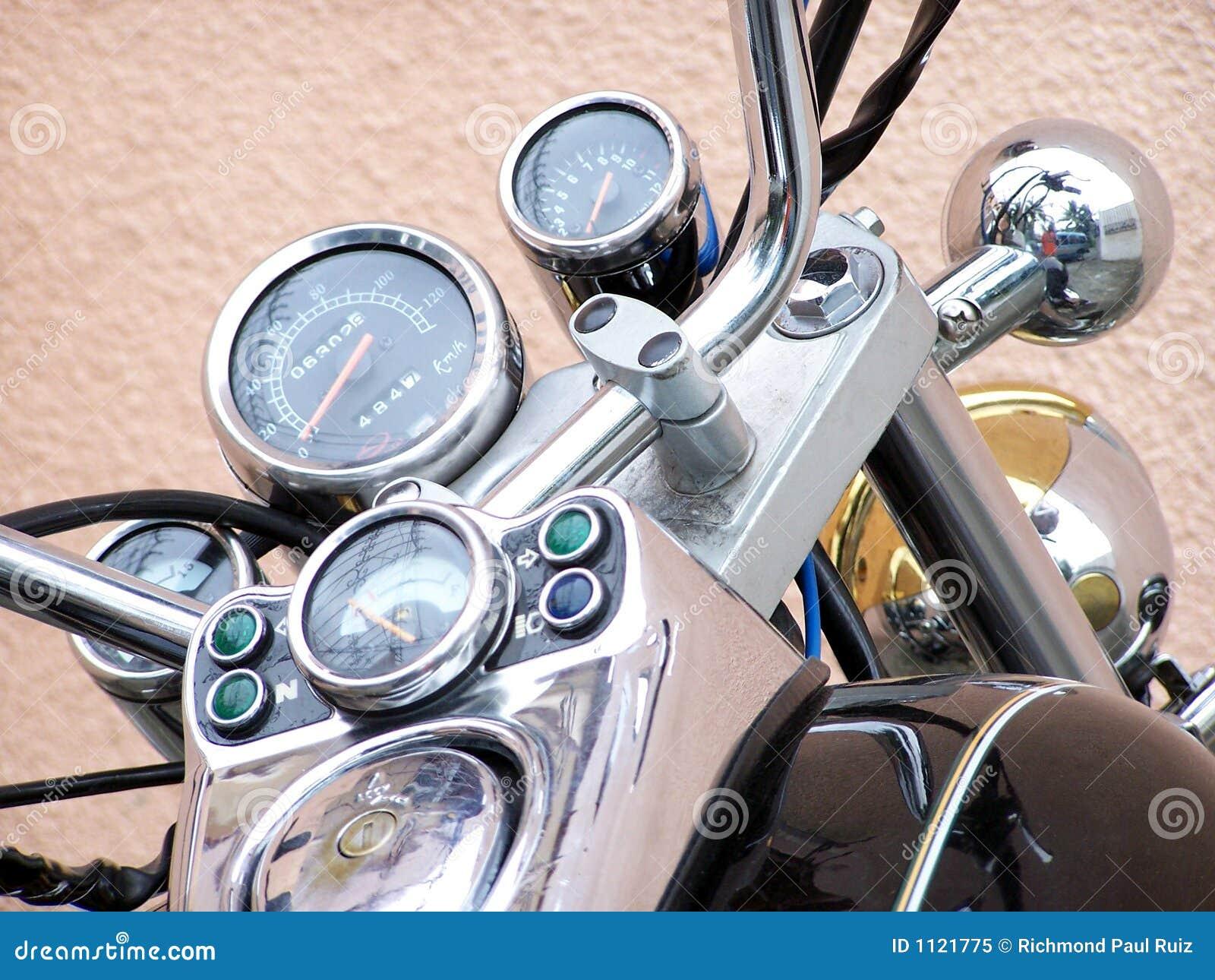 Kraty na prędkościomierz motocykla