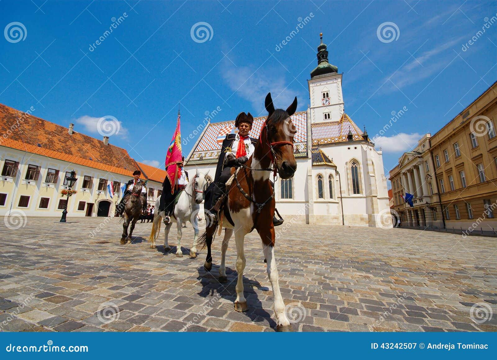 Kravat pułk, Zagreb, Chorwacja