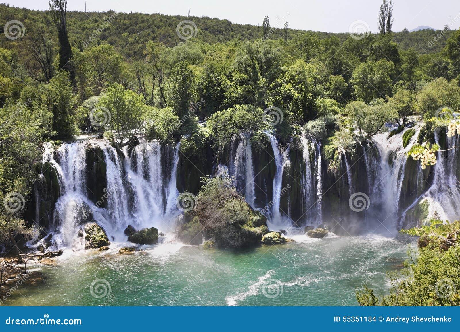 Kravice cade in Ljubuski La Bosnia-Erzegovina