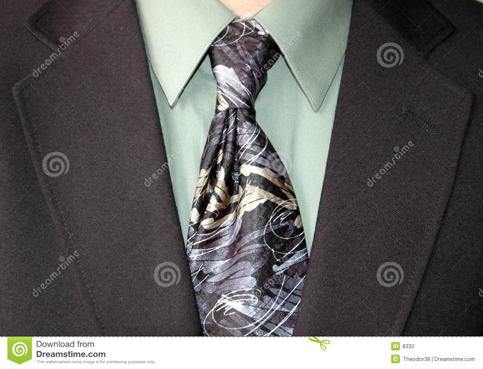 Krawat biznesmena