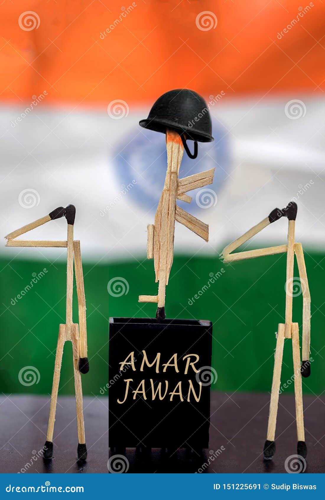 Kreative Fotografie von Amar Jawanusing Matches Stick