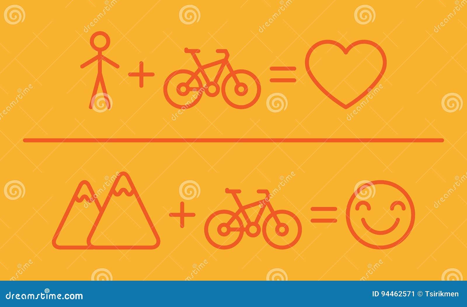 Kreative Gleichung über Fahrräder