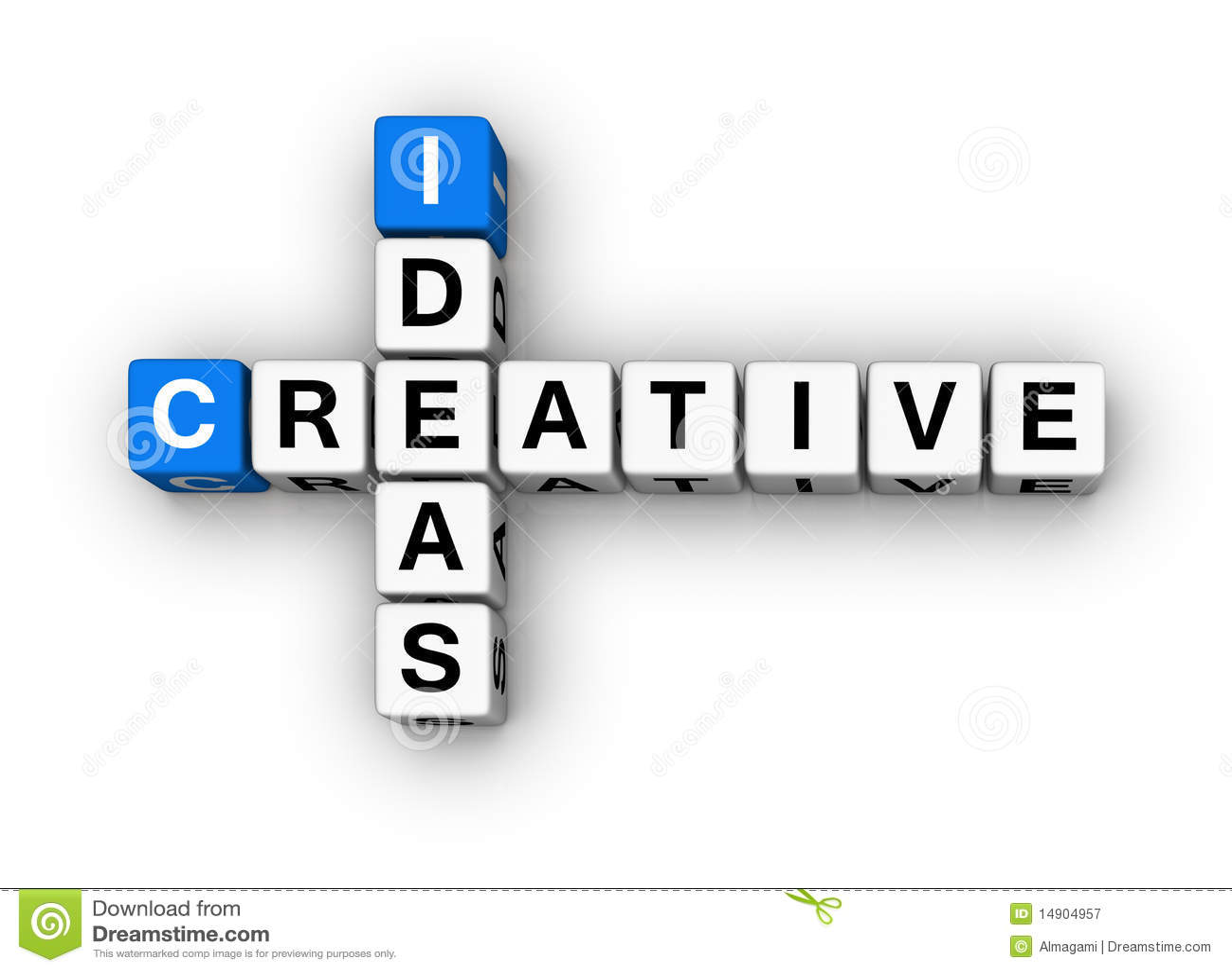 Kreative Ideen stock abbildung. Bild von modern, zeichen - 14904957