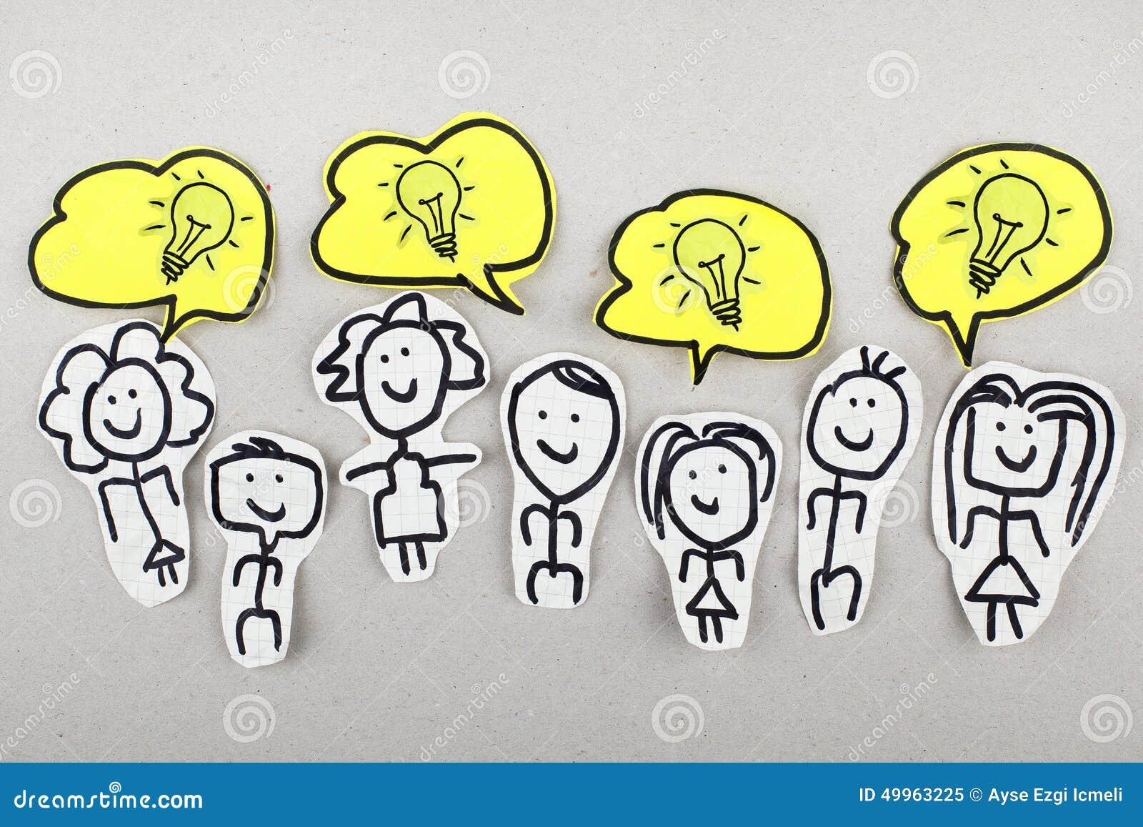 Kreative innovative Ideen stockbild. Bild von geschäft - 49963225