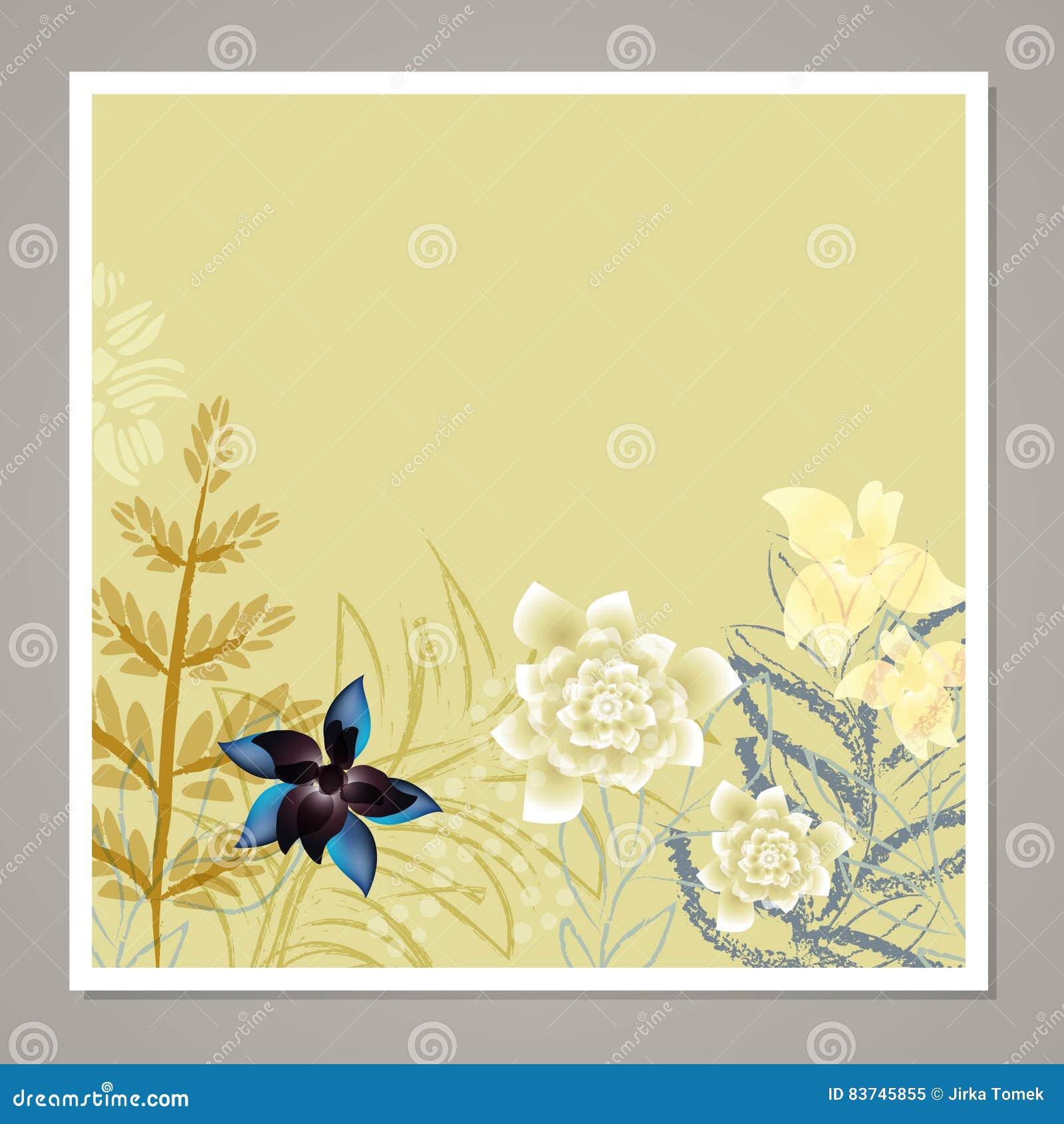 Kreative Universalblumenkarte Hand gezeichnete Beschaffenheiten Hochzeit, Jahrestag, Geburtstag, Valentin-` s Tag, Parteieinladun