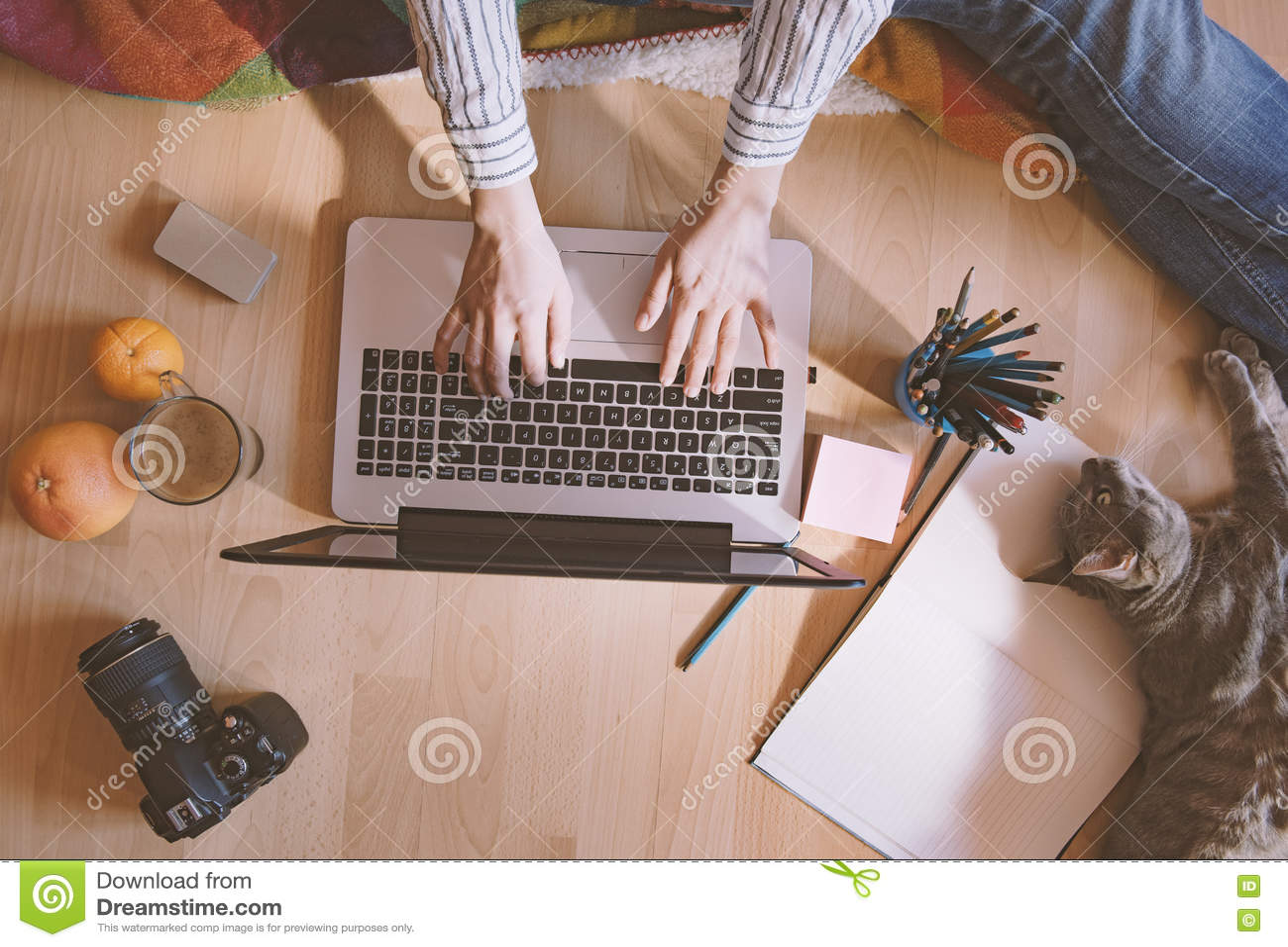Kreativer Arbeitsplatz