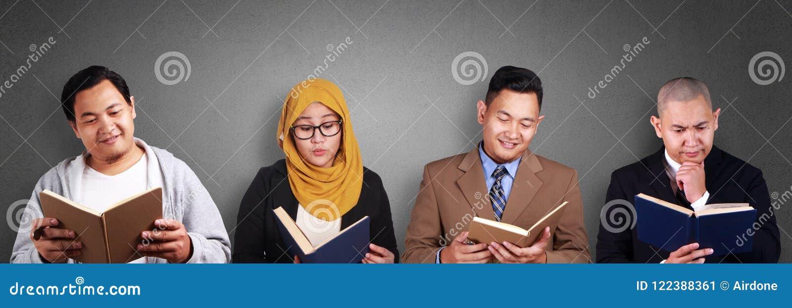 Kreatives Leute-Lesebuch