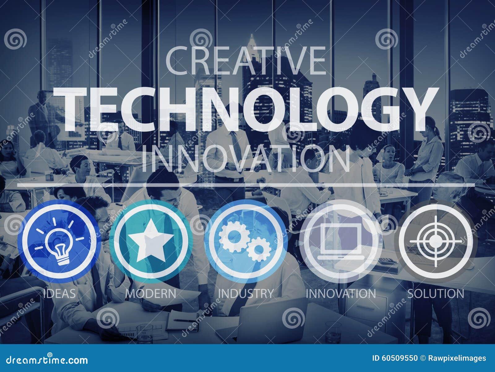 Kreatives Technologie-Innovations-Medien-Digital-Konzept