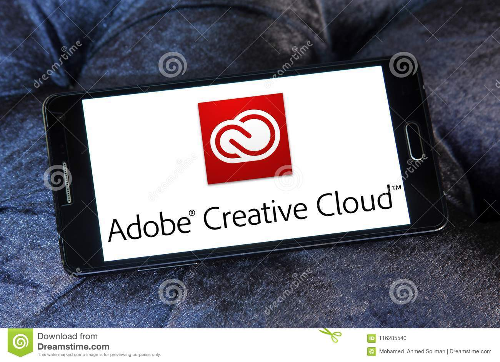 Kreatives Wolkenlogo Adobes