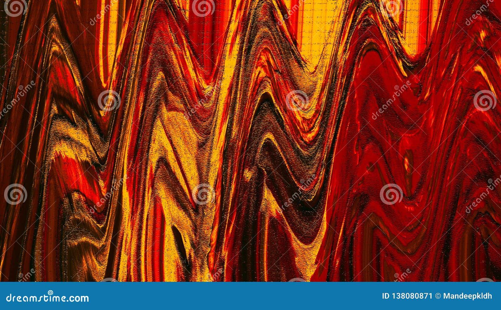 Kreatywnie abstrakcjonistyczna ręka malujący tło Akrylowi obrazów uderzenia na kanwie nowoczesna sztuka