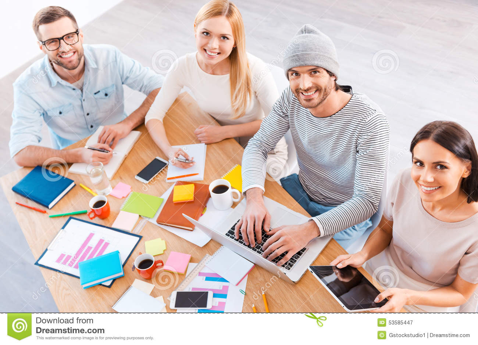 Kreatywnie drużyny t praca