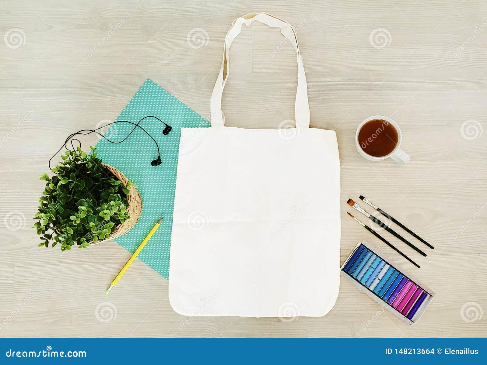 Kreatywnie, modny, artystyczny eco, du?y ci??ar, bawe?niany torba egzamin pr?bny w g?r?